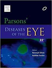 Parsons Diseases of the Eye  2015 - چشم
